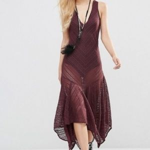 Free People Intimately Lila Slip Dress